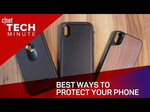 Best Ways To Protect Your Phone (Tech Minute)