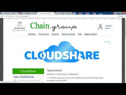 ChainGroup - cloudshare  - just compound for 60 days - How to choose trade group?