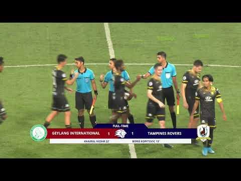 Geylang Tampines Goals And Highlights