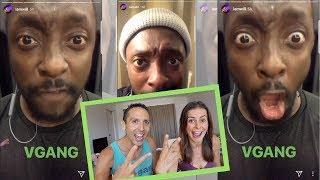 WILL.I.AM Goes Vegan! V-GANG  [Black Eyed Peas]