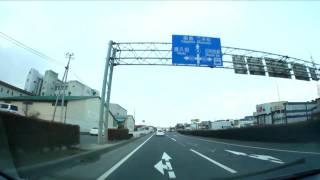 [車載動画]国道4号線 あさか野バイパス(NEX-5,VCL-ECF1)