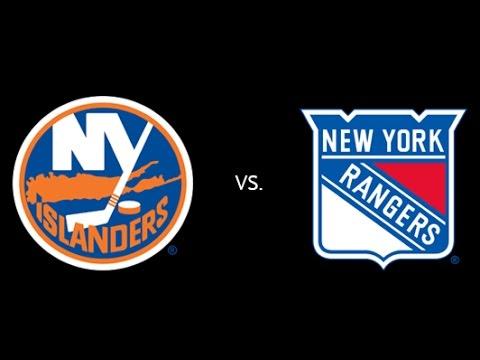 NHL 16 New York Islanders VS New York Rangers