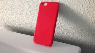 Test et déballage d'une coque Rouge ICON pour iPhone 6/6S