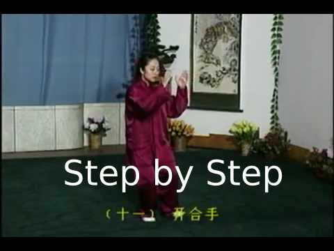 Tai Chi Chuan - 42 Form (front & back and Step by Step)