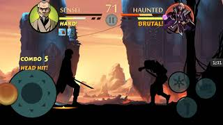 Shadow Fight 2 Special Edition Sensei vs Haunted Prince (Old Wounds)