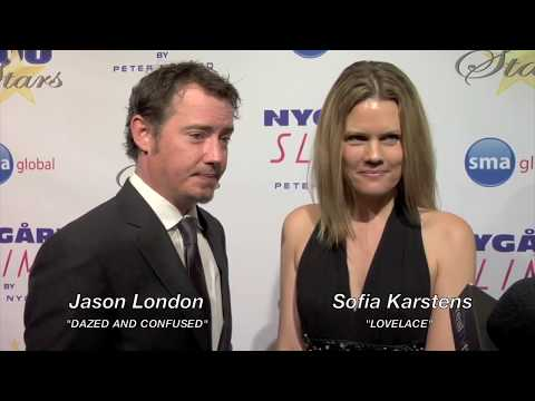 Jason London, Sofia Karstens, Night of 100 Stars 2015