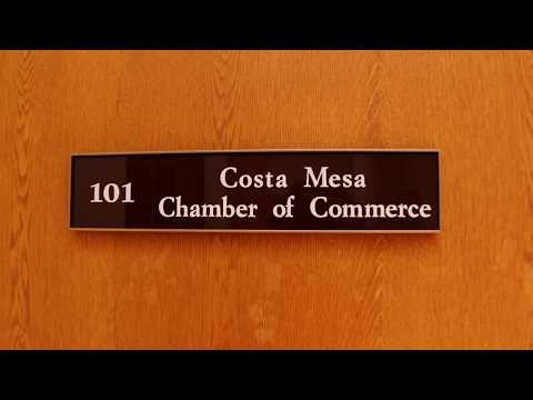 """Costa Mesa Chamber of Commerce- """"The Office"""" intro parody"""