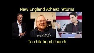 Jordan Peterson and Ben Shapiro inspire New England Atheist to Return to Church