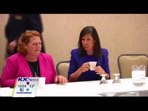 KXMC: Heitkamp Brings FCC Commissioner Rosenworcel to North Dakota