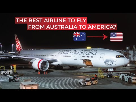 BRUTALLY HONEST Review Of Virgin Australia's Long-haul Economy Class From Sydney To Los Angeles!
