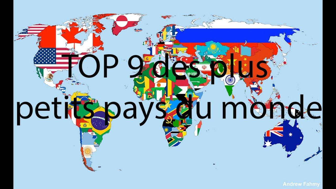 Top 9 des plus petits pays du monde g o youtube for Les magasins du monde