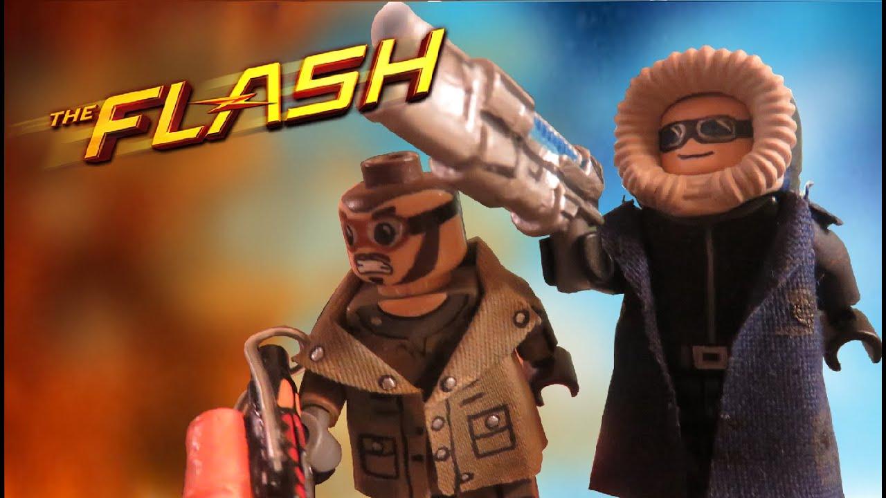 Lego Cw Flash Captain Cold Heatwave Youtube