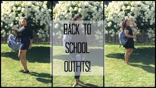 Back to School: 3 Outfit Ideas!