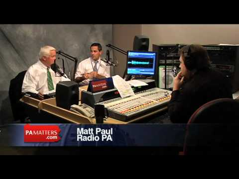 Governot Tom Corbett on first responders and stories from the flood