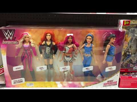 WWE Dolls At Toys R Us Toy Hunt