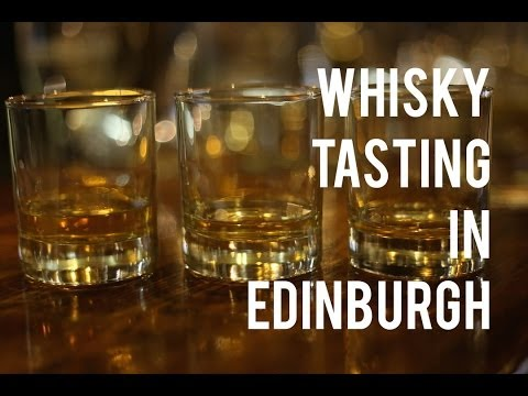 Whisky Sampling in Edinburgh - Around the World in 80 Drinks Discovers Whisky!