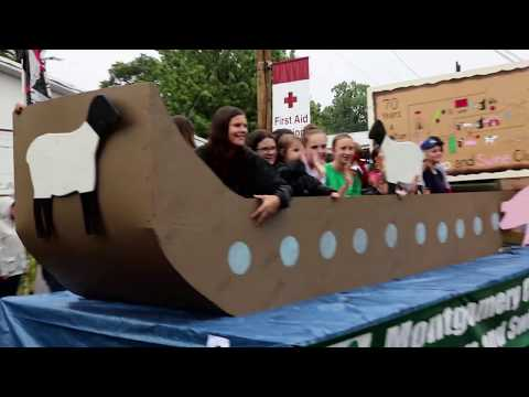 Montgomery County Agricultural Fair 4H Parade 2018