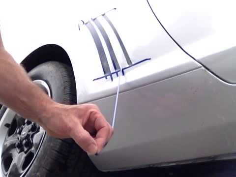 Paint Bleeding Through Tape Car