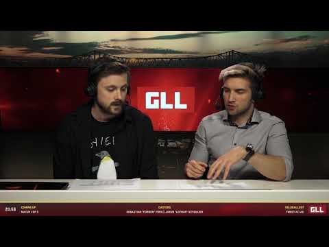 GLL Weekly Finals #1 - Match 1 / 5 - Casting by Forsen & Lothar