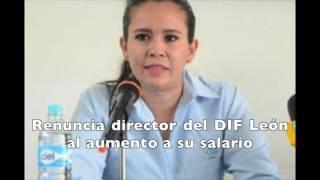 Renuncia directora del DIF León al aumento a su salario