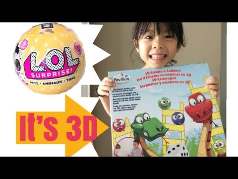 LOL SURPRISE TOY For The Winner Of 3D SNAKE And LADDER GAME BOARD Challenge
