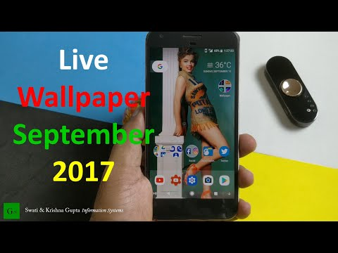 Best Live Wallpaper Apps For Android September 2017