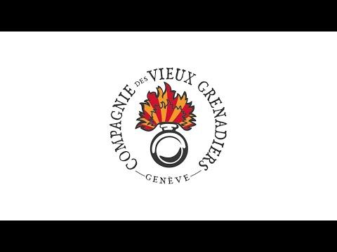 Compagnie des Vieux-Grenadiers de Genève Prise d'Armes 2015