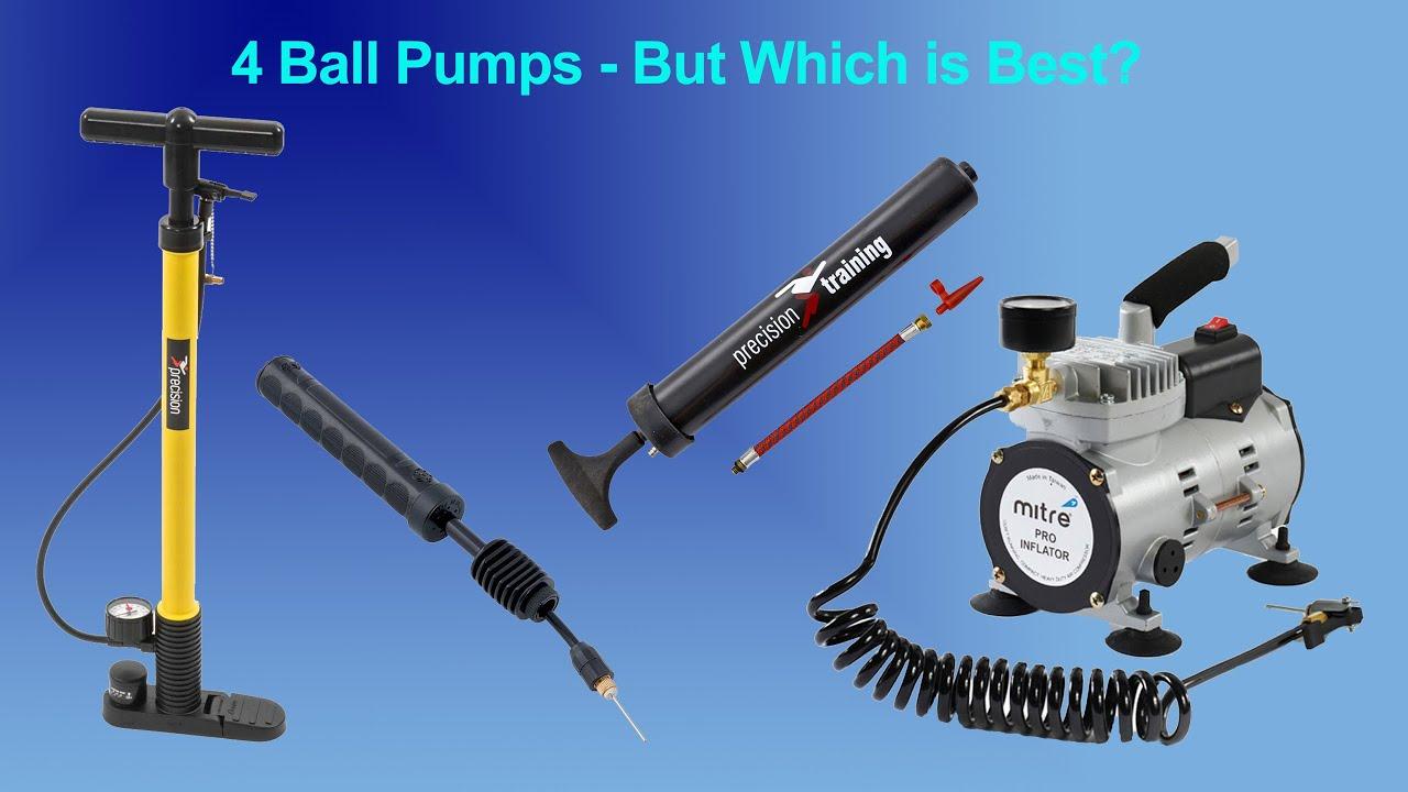 """Precision 6/"""" Transparent Hand Football Pump and Adaptor"""