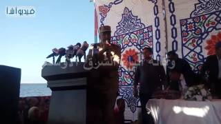"""بالفيديو :اللواء حمدي بدين """" وعدنا ونفي بالوعود ووزارة التعاون الدولي قامت بتمويل المشروعات """""""