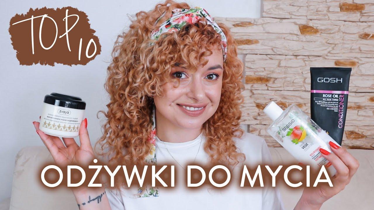 Ulubione ODŻYWKI DO MYCIA kręconych włosów *zgodne z CG* 🔥 TOP 10 // #2 | Curly Madeleine
