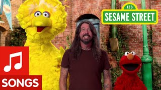 Sesame Street Here We Go Song With Dave Grohl