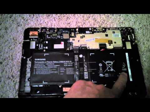 How to open Samsung Ativ smart PC tablet