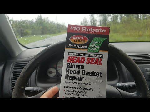 Bar's leak, real or myth? mechanic in a bottle How to fix a head gasket for cheap. blue devil k seal