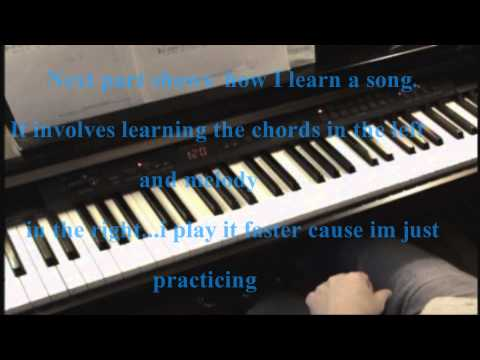A Marshmallow World - Piano
