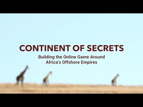 Behind the scenes of the Continent of Secrets game