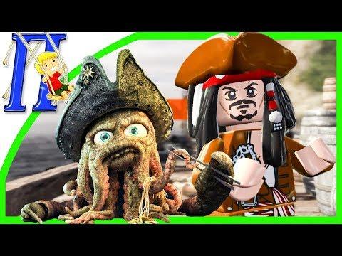 LEGO Пираты Карибского Моря {PC} прохождение часть 28 — ПЕРСТ СУДЬБЫ на 100%