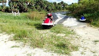 Epic Jet Ski Stick Marsh Ride