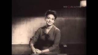 Фаина Раневская в студии ЦТ, 1962 г