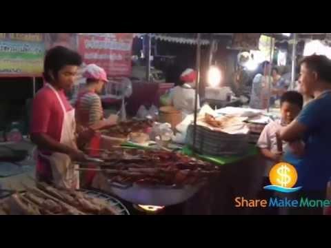 ร้านขายไก่ย่างเขาสวนกวาง จากขอนแก่น ขายดีมากที่ตลาดนัดคนต่อคิวยาวย่างแทบไม่ทัน - [share make money]