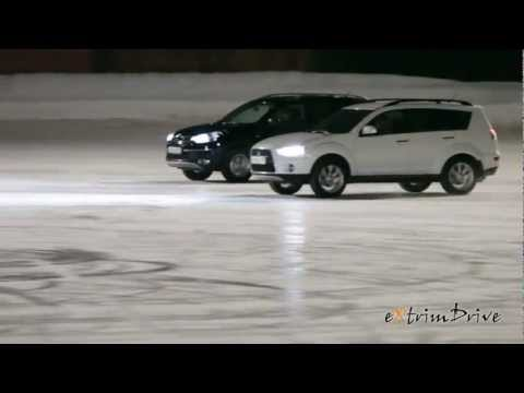 החלקה על הקרח של מכוניות
