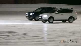 автоФигурное Катание. Танец машин и фигуристов на льду(Могут ли автомобили танцевать также, как фигуристы? Точно, красиво и в