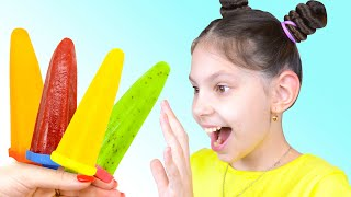 Color Song with Ice Cream Fruit   Nursery Rhymes with Naflandia