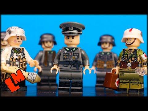7 немецких солдат (отличная копия из Китая)