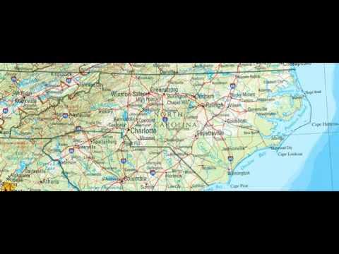North Carolina Vacation Song 1960s