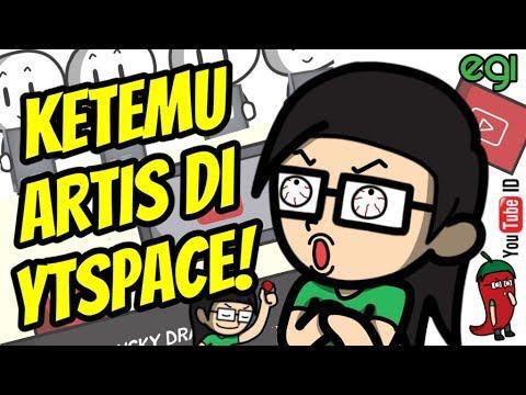 Ketemu Artis di Youtube Space Jakarta! (MiawAug, SkinnyIndonesian24, Gitasav dll)