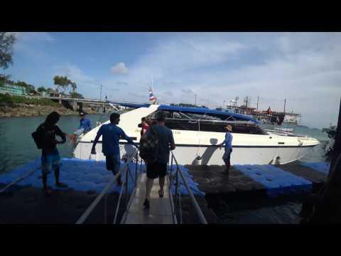 Singapore Trip January 2017 Day 8  Mariner of the seas: Phi Phi island mp4