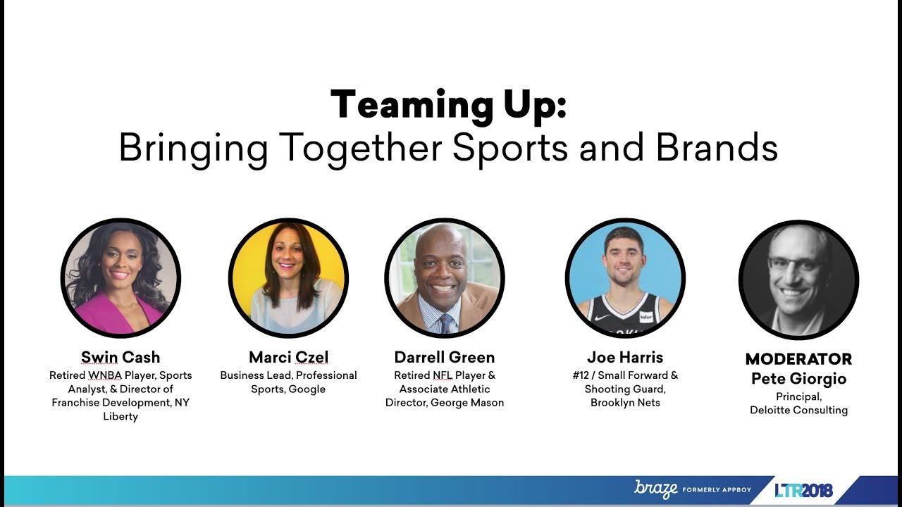 Teaming Up: Bringing Together Sports and Brands | LTR 2018