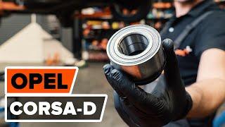 Sostituzione Kit cuscinetto ruota OPEL CORSA: manuale tecnico d'officina