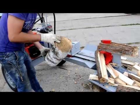 Дровокол гидравлический бензиновый ДГ Б4. Купить дровокол тел. +7(343)290-40-53
