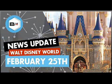 Walt Disney World News Update for February 25th, 2020